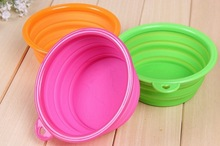 cheap silicone pet bowl