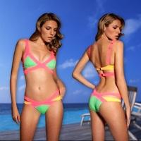 Free Shipping Factory Wholesales Woman Tankini Swimsuits Women Ladies Bikinis Drop shipping 1426G
