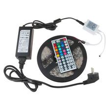 Led Strip 5050 SMD 60led m 300leds Strip Light Flexible IP65 Waterproof 44key Remote 12V 6A
