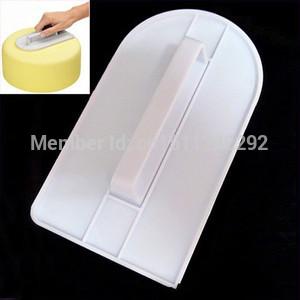 1pc Plastic Sugarcraft Fondant Smoothing Cake Decorating Edge Polisher Tool Mold A1772 McnUmL(China (Mainland))