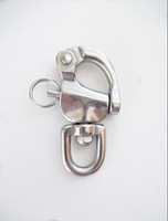 90mm *2 316 STAINLESS STEEL SWIVEL SNAP SHACKLE - MARINE/BOAT/SAILING/YACHT/CARAVAN