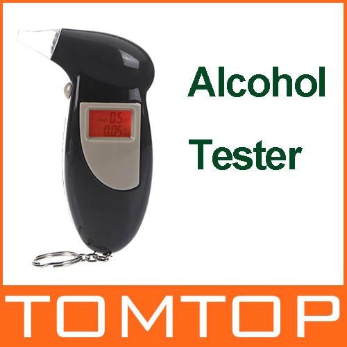 Подсветкой дисплей цифровой жк-дисплей дыхание алкотестер звуковой сигнал спирт тестер коробка парковка гаджет анализатор автомобиль детектор
