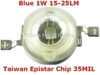 1W LED Module ,LED light, LED beads,15-25LM LED Light source,Taiwan Epistar Chip 35 MIL,Blue.
