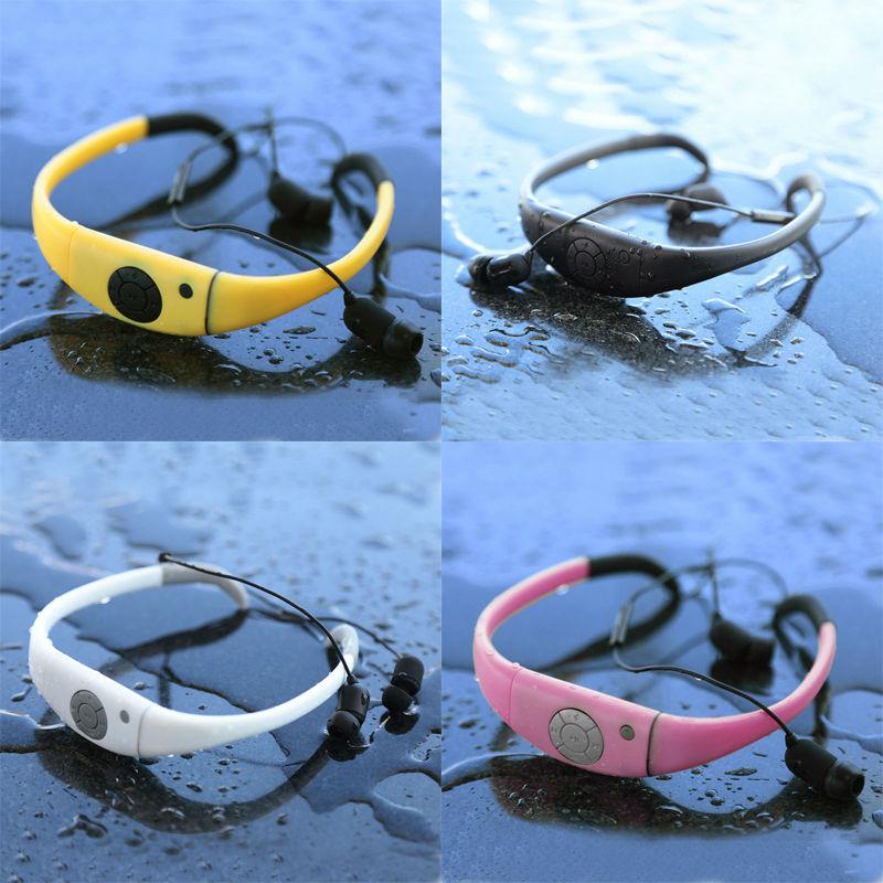 Waterproof Wireless Bluetooth Stereo Sports Swim Shower Headset Headphone Earphone for iPhone LG Samsung HTC Cell Phone(China (Mainland))
