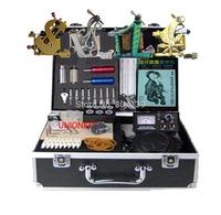 Free Shipping-new Tattoo Kit 4 machine tattoo equipment power complete set