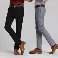 Fashion slim casual male western-style trousers england mens casual trousers slim