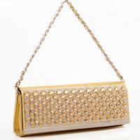 new 2014 women's fashion evening bags golden day clutch women shoulder bag woman handbag envelope clutch bag h fold