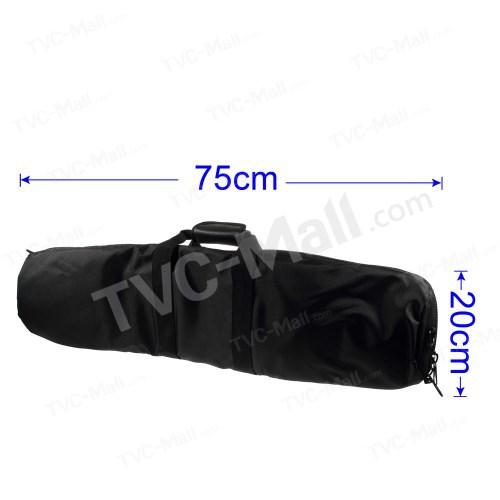 Free shipping 1pc/tvc-mall Photography Studio Lighting Kit Equipment Black Travel Zipper Carry Bag Case, Size: 75 x 20cm(China (Mainland))
