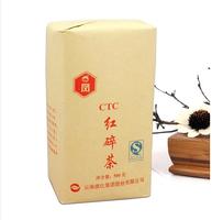 Free Shipping CTC 500g Red tea Original Chinese Ceylon  particles Black Tea Dianhong Broken tea Tea Green Food Warm stomach