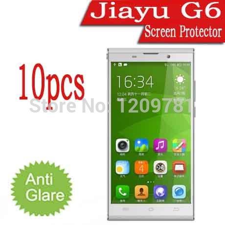 10pcs Jiayu G6 Screen Protector,Matte Anti-Glare Android Phone Jiayu G6 Octa Core 5.7'' LCD Protective Cover Guard Film(China (Mainland))