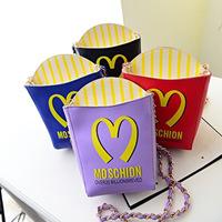2014 fashion trend of the fashion french fries letter bag all-match chain bag small bag women's handbag