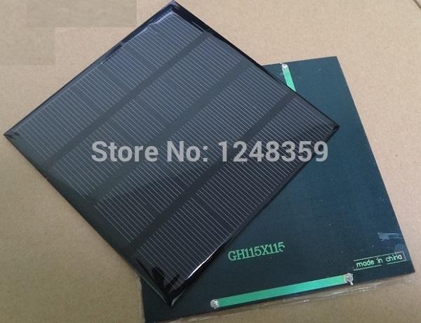 Wholesale! 2Watt 6V Solar Cell Monocrystalline Solar Pa