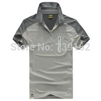 new 2014 fashion brand men summer Adtass Outdoor quick-drying T-shirt, short-sleeved T-shirt, T-shirt lapel casual fast drying