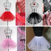 Girl Women's Petticoat Pettiskirt Tutu Skirt Swing Rockabilly Pinup DF13436
