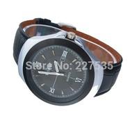 Free shipping on 2014 new fashion business calendar man leather strap watch quartz watch