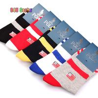 2014 New Men's Basketball Socks Brand Polo Socks Men Sport Skateboard Long Black Summer Sox Calcetines Male 5pair/lot Free Ship