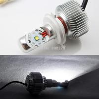 1pc H4 H/L/Strobe 20W H6 BA20D 1900LM White Motorcycle Moto LED Conversion Kit Headlight Bulbs