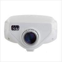Portable Mini HD 1080P Multimedia LED Projector Home Cinema Theater ,Mini projector TV Movie Support HDMI VGA AV Portable