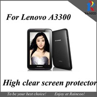 10pcs/lot for Lenovo a7-30 screen guard,high clear screen film protector cover for lenovo a3300,opp bag packing,free ship