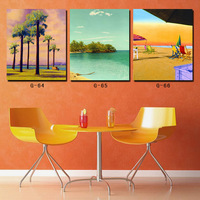 High Quality Modern Wall Art Canvas Painting Prints for Home Decoration Seascape