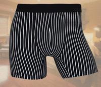 Super fat man underwear antibacterial leisure and nature cotton stripe boxer shorts super plus size 4xl/5xl/6xl 4pcs/lot