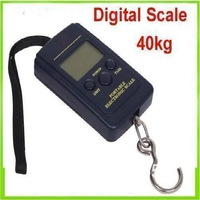 500pcs/lot 40kg - 20g Weight Digital Scale Handy Scales Hanging Luggage Fishing Pocket Scale Hook Portable