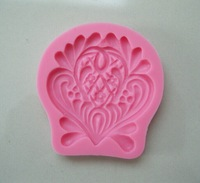 Beautiful Flower shape  Chocolate Candy Jello 3D silicone fondant lace Mold Mould cake decoration/pastry tools, Y020