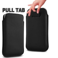 Luxury Pull Tab PU Leather Sleeve Pouch for Lumia 630 635 Cell Mobile Phone Case Bags Free Shipping KDOE6F