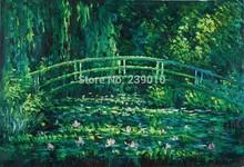 Pintura pintura a óleo paisagem clássica sobre tela impressionista Claude Monet Canvas pintura a óleo(China (Mainland))