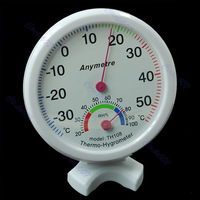 Free Shipping Mini Indoor Thermometer Hygrometer Wall Temperature Measure-PY