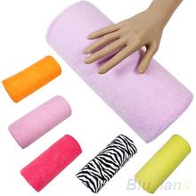 Hot Sale  Half Hand Cushion Rest Pillow Nail Art Design Manicure Care Salon Soft Column  1NFZ(China (Mainland))
