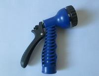 Free Shipping Hose Expandable Flexible WATER GARDEN spray Gun(Opp)(Only spray Gun)