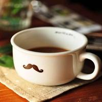 12pcs/lot DHL free shipping Cute little cup Rain/sheep/bird/beard ceramic cup Creative gift coffee cup