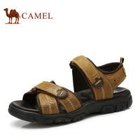 Camel camel shoes male summer sandals cowhide sandals casual sandals