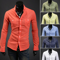 2014NEW Arrival Men's Shirts Cool Man Fashion Multi-color Shirt Gentleman Must Have One This Shirt