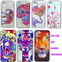 New Hard PC Cute Pattern Skin Case Cover Back Fitted FOR Apple iPhone 5 5S