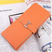 Promotion!2014 new multifunction ,Free shipping ,  woman's wallet,  PU Wallet  , PU  purses hot fashion