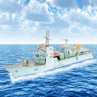 Fashion Tower Bridge design boy girls 3D puzzle children kid Mosaic toys DIY toy Warship ship  puzzles Military  NO.673B