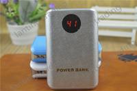 100pcs 8800mAh Bateria Externa Power Bank LED External Battery Phone Charger USB Double Port