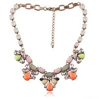 New 2014 women fashion collar design bubble bib necklaces & pendants choker statement necklace for women Jewelry wholesale