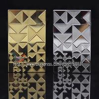 "HK Luxury FS Durout Irregular Trigle Pattern W/Bright ""Ping"" Sound Pure Copper Cigar Cigarette Butane Gas Lighter"