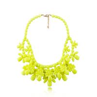 New 2014 fashion torques necklace & pendant costume chunky choker design pendant fluorescence Necklaces statement jewelry women