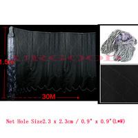 Angling Tackle 2.3cm x 2.3cm Mesh Hole 30M x 1.5M Multifilament Fishing Gill Net