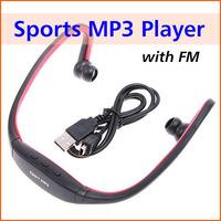 Sports MP3 Music Player Headset Wireless MP3 Player WMA Digital Headphone Earphone