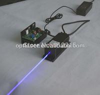 445nm 1w Blue  Laser Module/ Cooling with fan