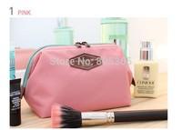 2014 New Cute Women's Lady Travel Makeup bag Cosmetic pouch Clutch Handbag Casual Purse 4  Colors SK82003