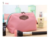 2014 New Cute Women's Lady Travel Makeup bag Cosmetic pouch Clutch Handbag Casual Purse 4  Colors SK82003
