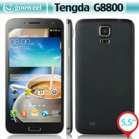 Tengda G8800 Smartphone MTK6592 OCTA CORE 5.5 Inch 1GB 8GB Android 4.2 OTG Air Gesture 3G PHONE - Black