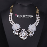 JOEY.New Arrival Exaggeration Gem Crystal Necklaces & pendants Statement Necklace Retro Chokers Necklaces Jewelry FreeShipping