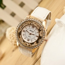 LZ Jewelry Hut W070 Hight Quality 2014 New 6 Colors Brand Design Fashion Full Rhinestone Quartz Women Dress Watches